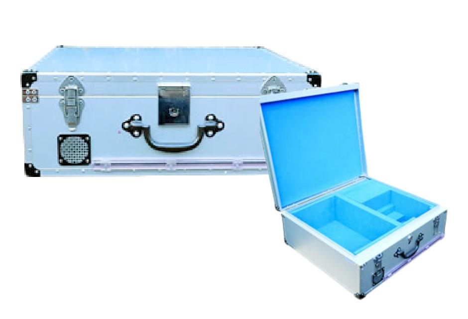 距離感応式警報ブザー付 ATMカセット搬送トランク