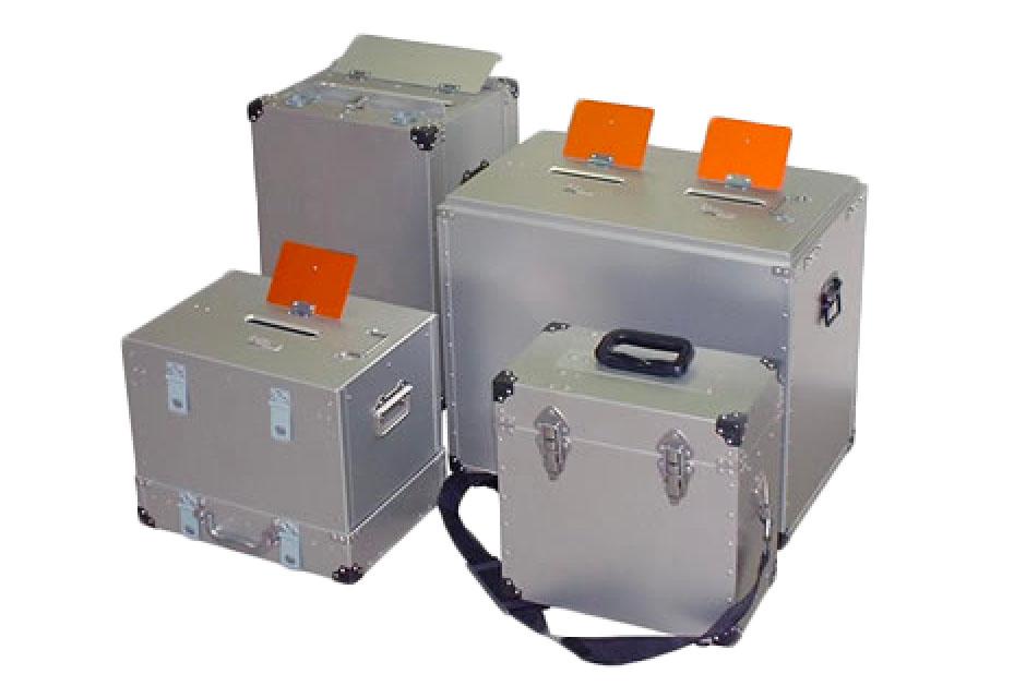 情報保護箱(アンケート回収箱)