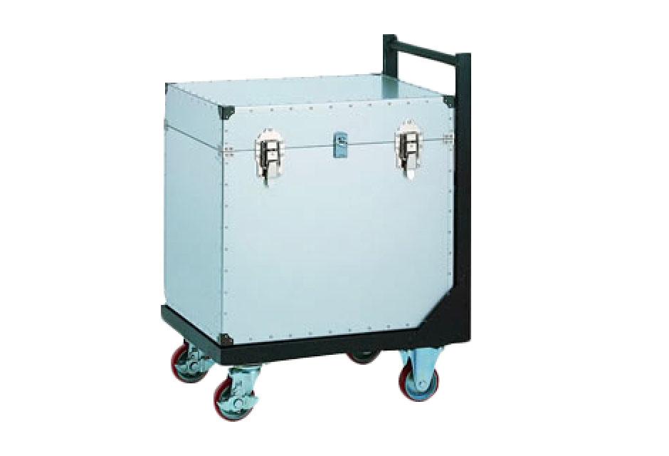 台車一体型搬送箱